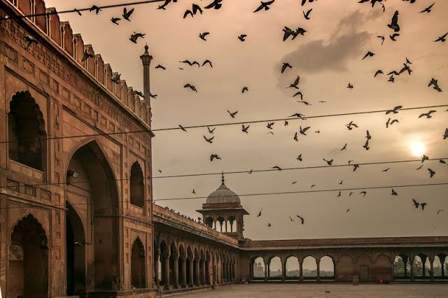 jama masjid shah jahan mughals travel tips delhi