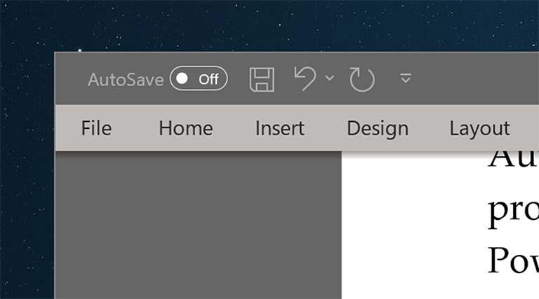 Fitur AutoSave Dinonaktifkan Di Office Word, Excel Atau PowerPoint