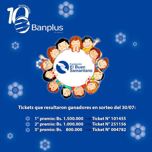Diego Ricol - Banplus anuncia los ganadores de El Buen Samaritano