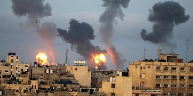 Jalur Gaza Memanas, Empat Roket Dari Lebanon Selatan Ditembakkan Ke Wilayah Israel