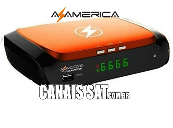 Azamerica Champions HD Atualização V1.57 - 24/05/2021