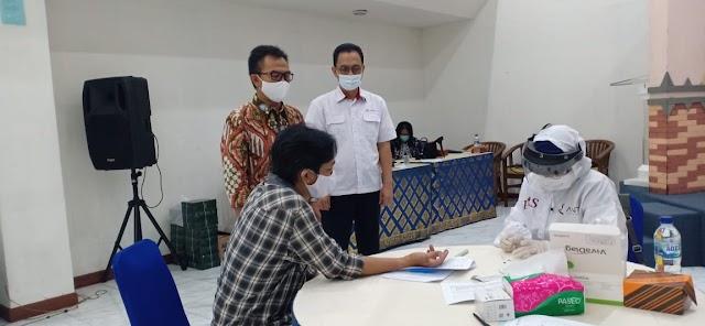LKBN Antara  Bersama PWI dan Dewan Pers  Lakukan  Rapid  DiagnosticTest