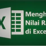 Cara Menghitung dan Contoh Rumus Rata-Rata di Excel