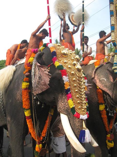 festival hindou elephant