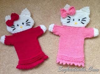 Yeni hello kitty örgü modelleri