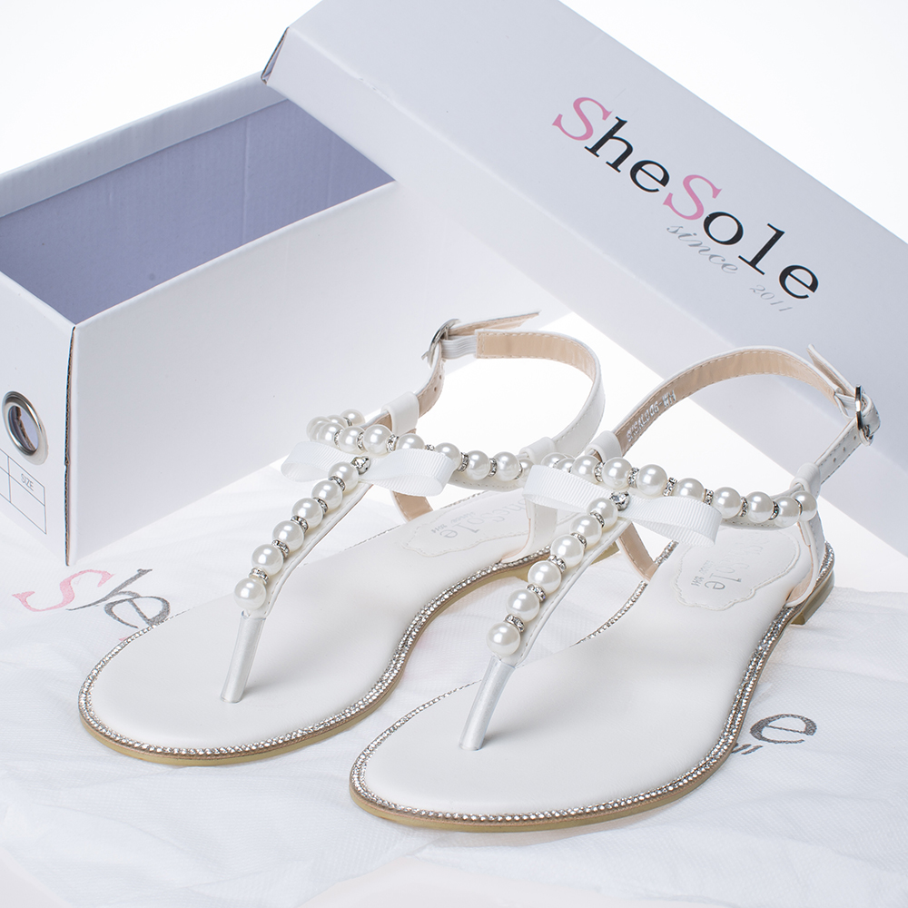 1b386dd7ac43d Most two gorgeous beach bridal bridesmaid wedding sandal trend gem stone  jewel embellished details