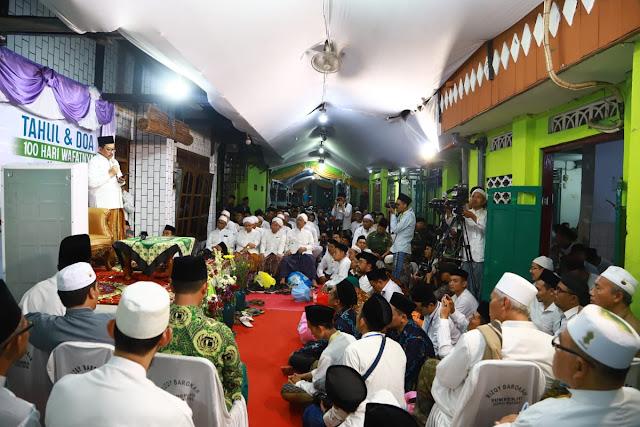 Puluhan Ribu Orang Hadiri Peringatan 100 Hari Wafatnya Mbah Moen di Sarang Rembang