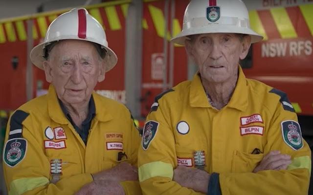 Два лучших друга, которые не разлучались ни на миг, тушат пожары по всей стране уже в течение 70 лет
