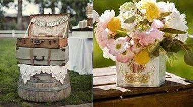 maletas y flores
