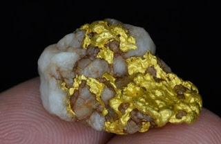 Qué tipos de suelo contienen oro