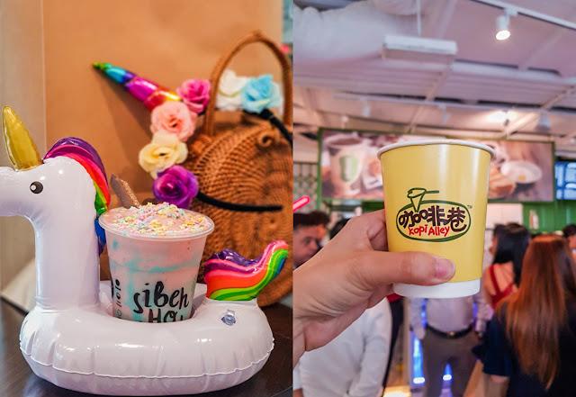 Jollibean's Unicorn Christmas + New 3 in 1 Concept Store near Raffles Place MRT Station