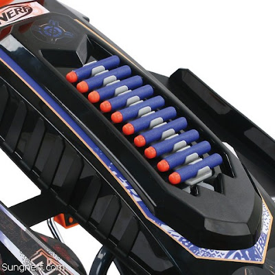 Xe Đồ Chơi 4 Bánh Nerf Battle Racer 1