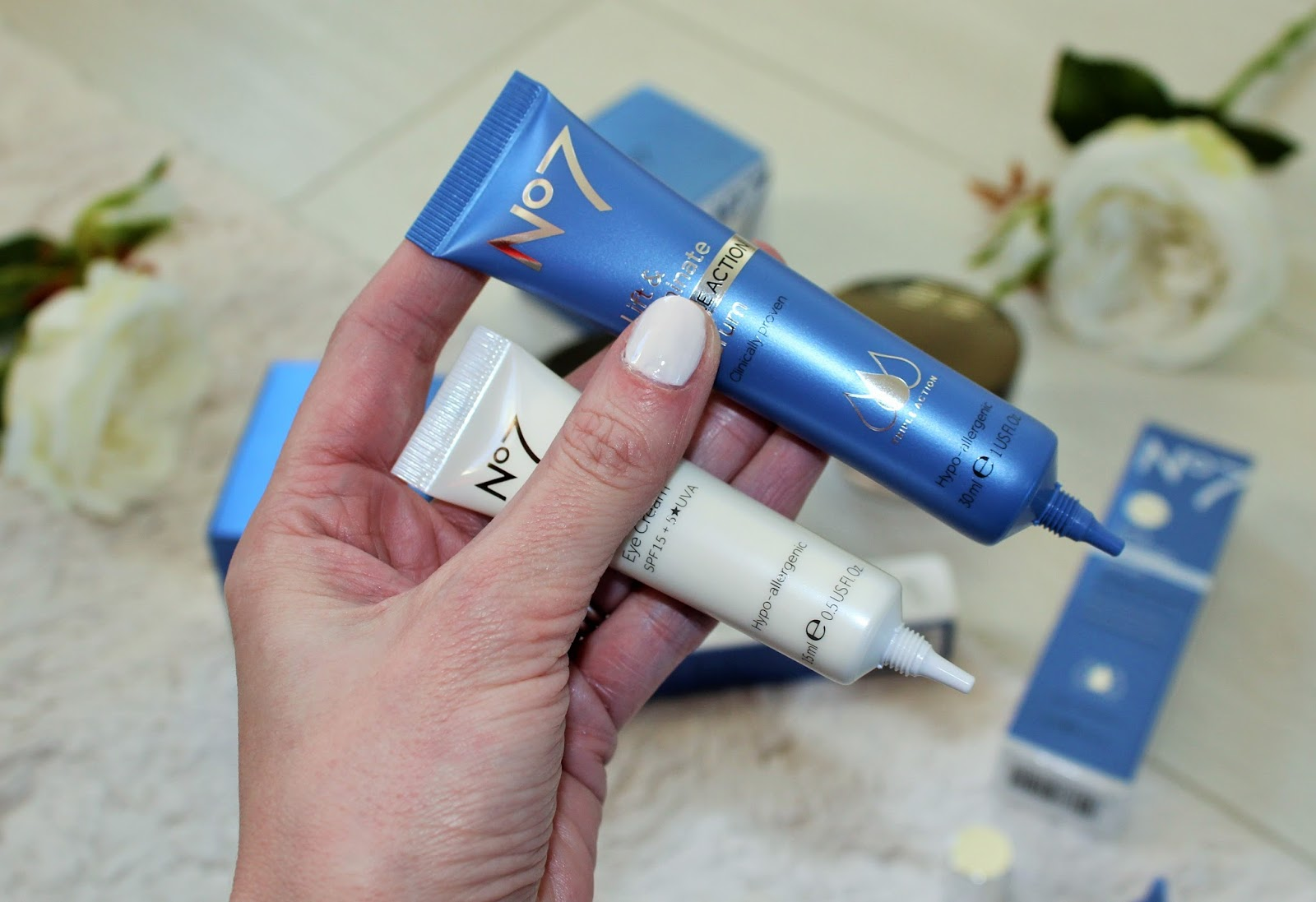 No7 Lift & Luminate Triple Action Range - First Impressions and Giveaway 7