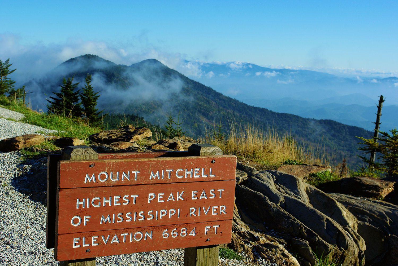 Маунт Митчелл, Северная Каролина