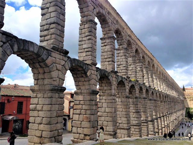 donde está el acueducto de Segovia