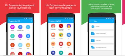 10 Aplikasi Android Terbaik Untuk Belajar Pemrograman Atau Coding