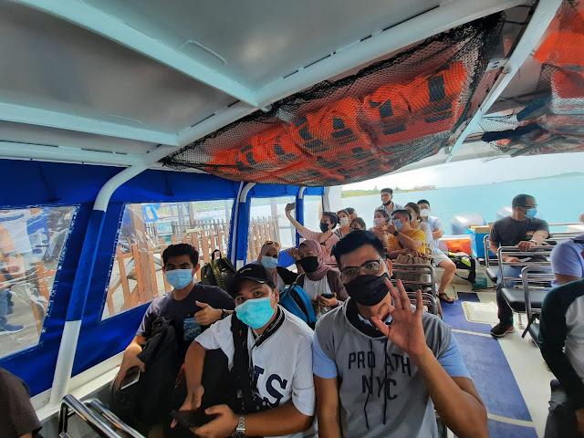 Kapal Menuju Pulau Ranoh