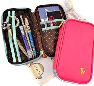 butterfly pencil pouches at CoolPencilCase.com