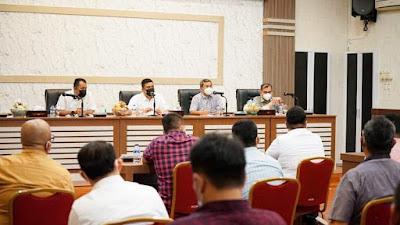 Wali Kota Medan Bobby Minta Camat Fokus Pendataan UMKM, Kebersihan dan Covid-19