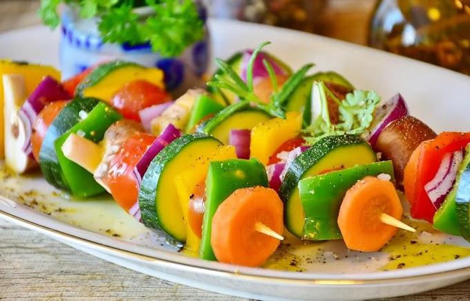 Brochetas de verduras: la opción más genial para reemplazar ensaladas