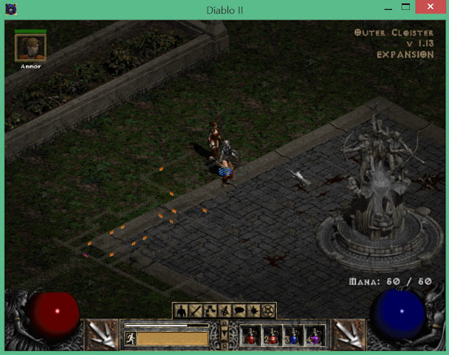 The Monastery Barracks | Diablo 2 Screenshot
