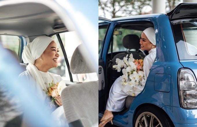 Pengantin Datang Naik Kelisa Je, Tak Sangka Majlis Nikah Pasangan Ini Hanya Dihadiri 11 Orang Tetamu