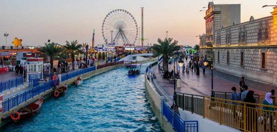 موعد القريه العالميه في دبي