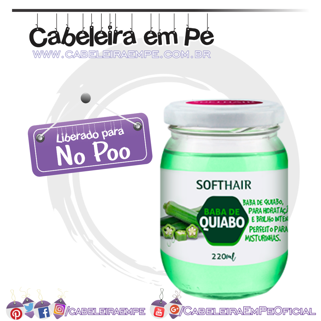 Baba de Quiabo - Soft Hair (No Poo)