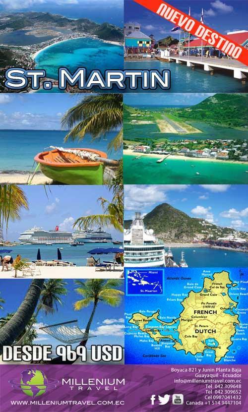 Paquetes de viajes, vuelos a San Martin La Isla Franco Holandesa