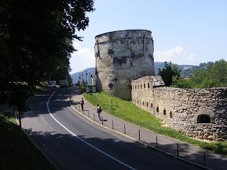 Bastionul Postavarilor Brasov Romania,