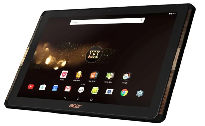 Acer Iconia Tab 10 A3A40 With 4 Front Facing Speakers Now