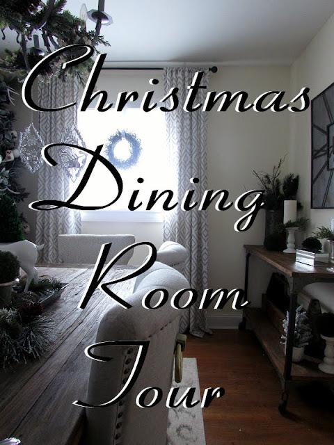 Dining Room Holiday Decor