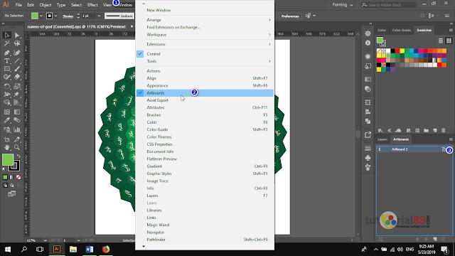 Cara mudah merubah ukuran artboard di adobe illustrator + video