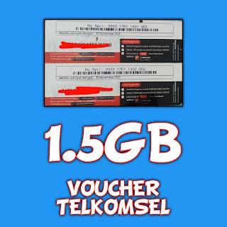 VOUCHER TELKOMSEL 1,5GB SULSEL