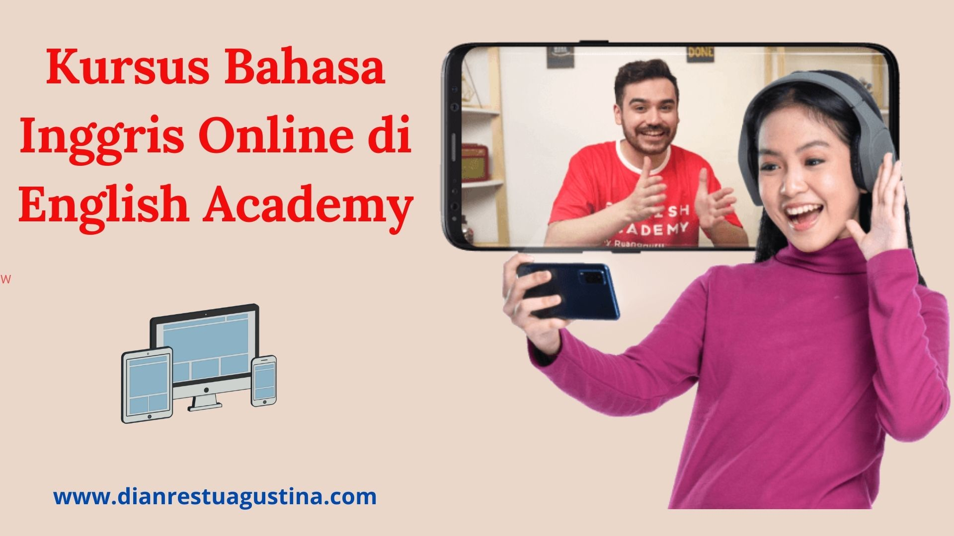 Kursus Bahasa Inggris Online di English Academy