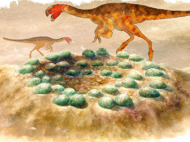 Neutron source enables a look inside dino eggs