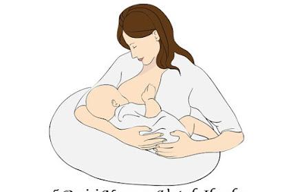 5 Posisi Nyaman Untuk Ibu dan Bayi Saat Menyusui