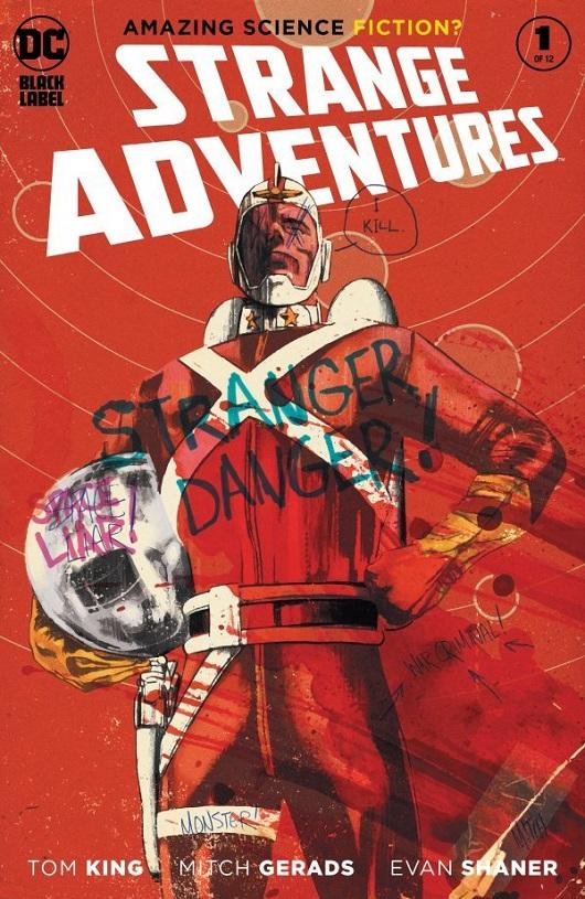 Cover of Strange Adventures #1