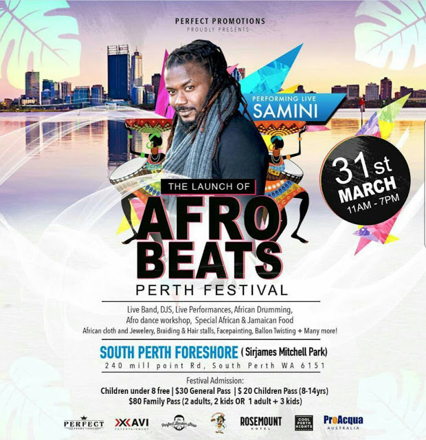 Samini Named For Maiden Afrobeats Perth Festival In Australia