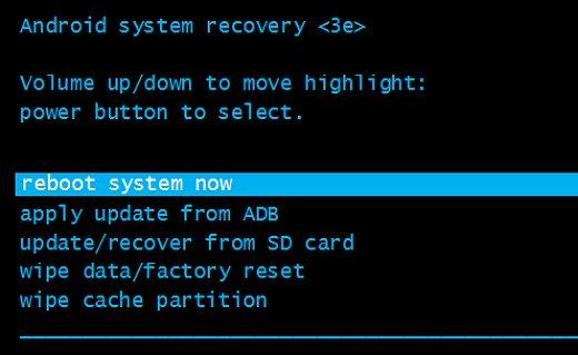 Reboot Device Samsung Galaxy J5