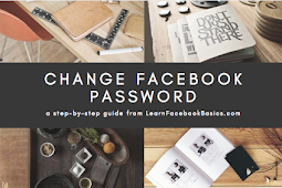 How to reset or change Facebook Password