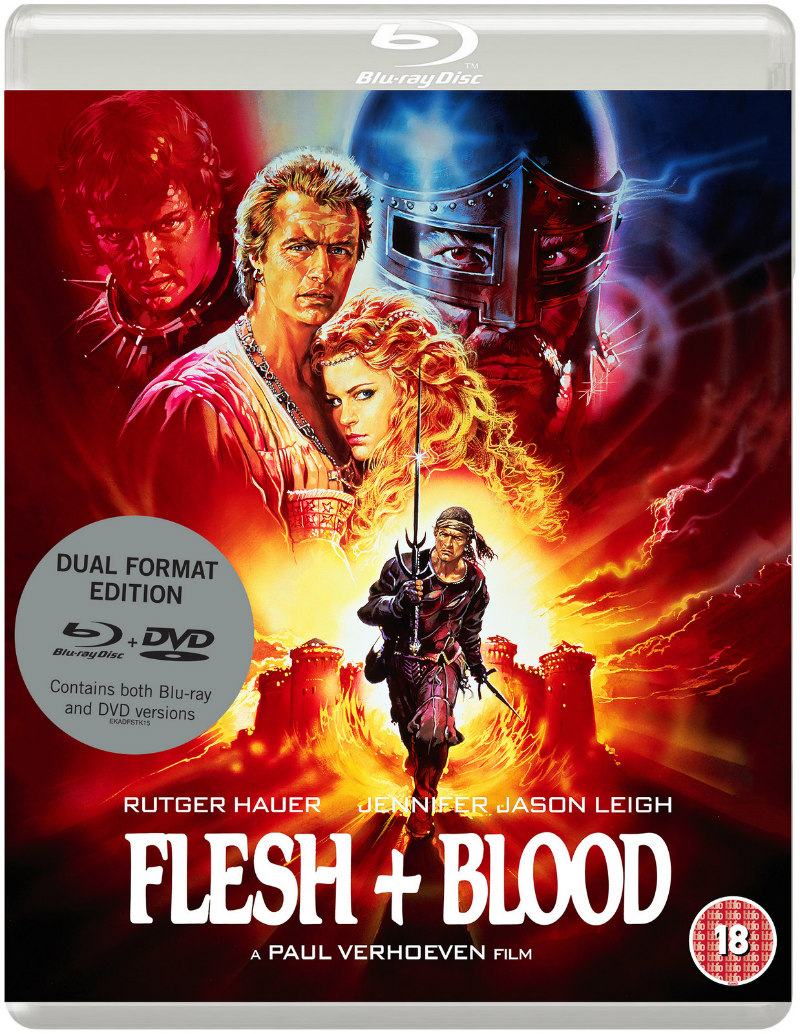 Paul Verhoeven's FLESH + BLOOD blu-ray
