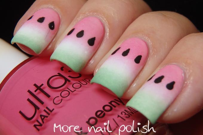 40 Great Nail Art Ideas Food More Nail Polish