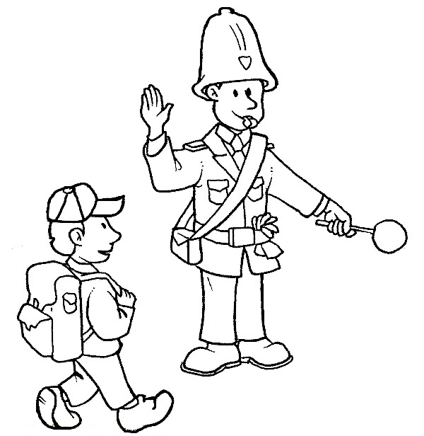 Family, People and Jobs Coloring Pages