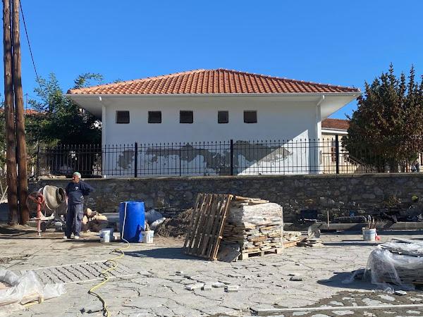 Ξεκίνησαν οι εργασίες αποκατάστασης πλακόστρωτων στην Κρανέα Ελασσόνας