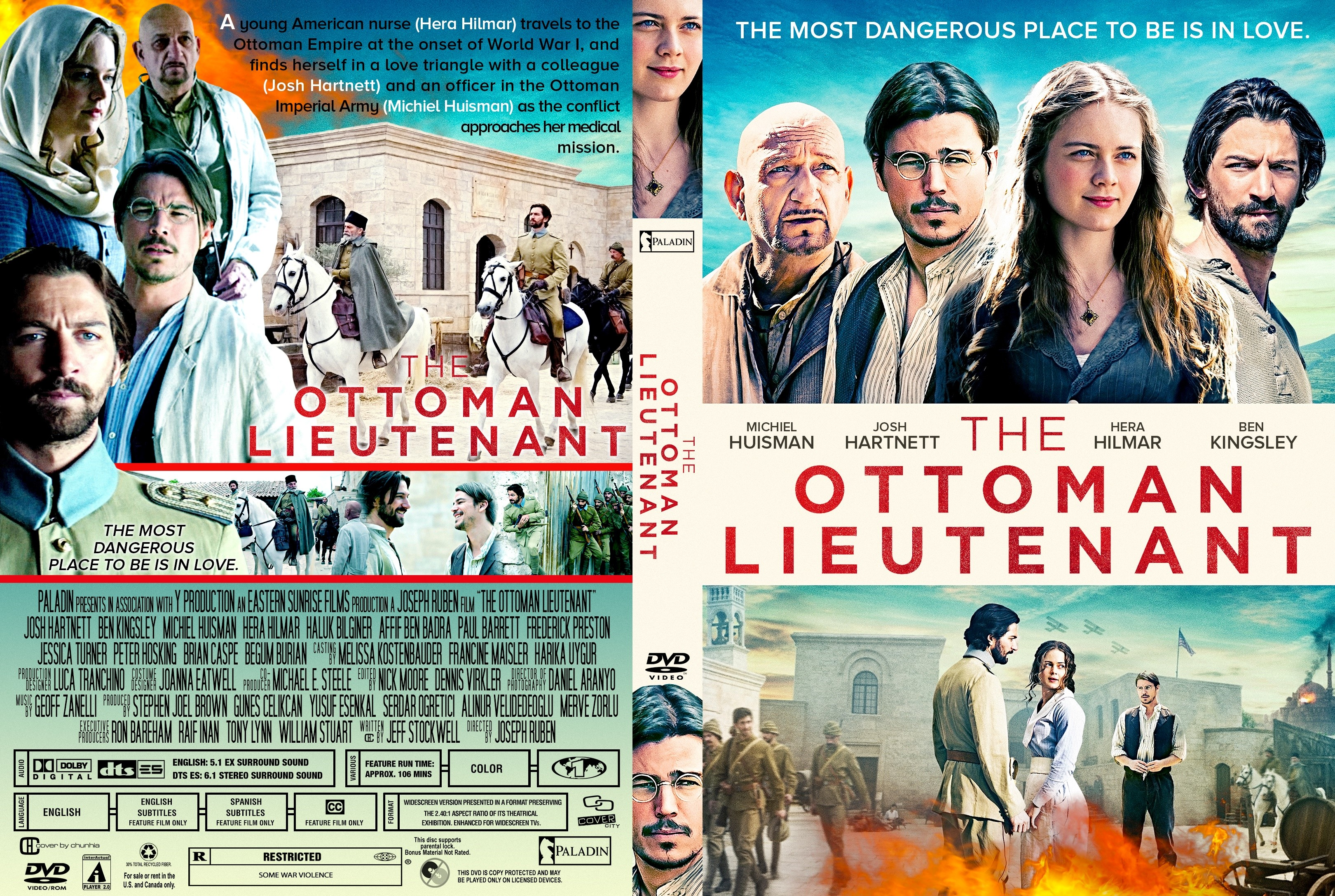 The Ottoman Lieutenant DVD Cover  Cover Addict  DVD and