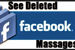 See Deleted Facebook Messages