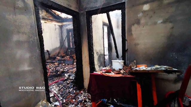 Πυρκαγιά τα ξημερώματα σε οικία στο Ναύπλιο - Στο νοσοκομείο γυναίκα με αναπνευστικά προβλήματα