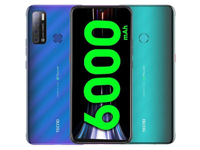 List of Tecno Phone With 6000mah Battery And Price In Nigeria
