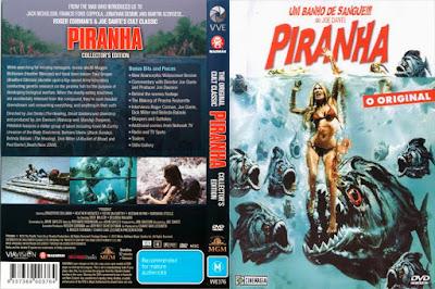 Filme Piranha 1978 DVD Capa